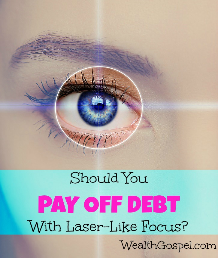 There are lots of opinions about how to pay off debt, but aren't all financial priorities important? Should your approach be laser focused or balanced?